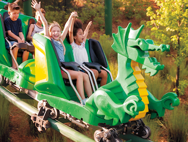 Kids Free with Purchase of Full Price Adult 1-Day LEGOLAND + SEA LIFE® Hopper